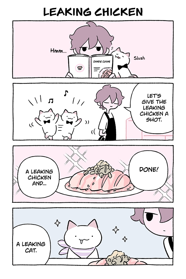 Wonder Cat Kyuu chan Vol. 7 Ch. 714 Leaking Chicken
