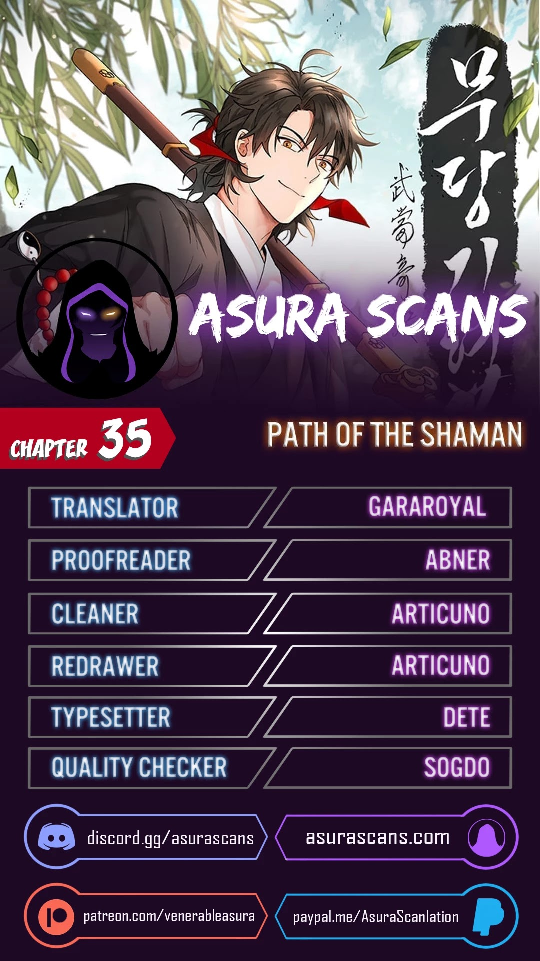 Path Of The Shaman Chapter 35
