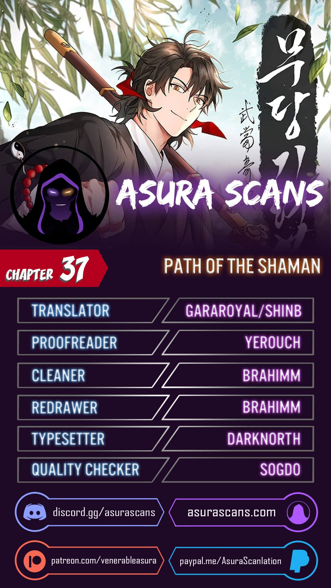 Path Of The Shaman Chapter 37