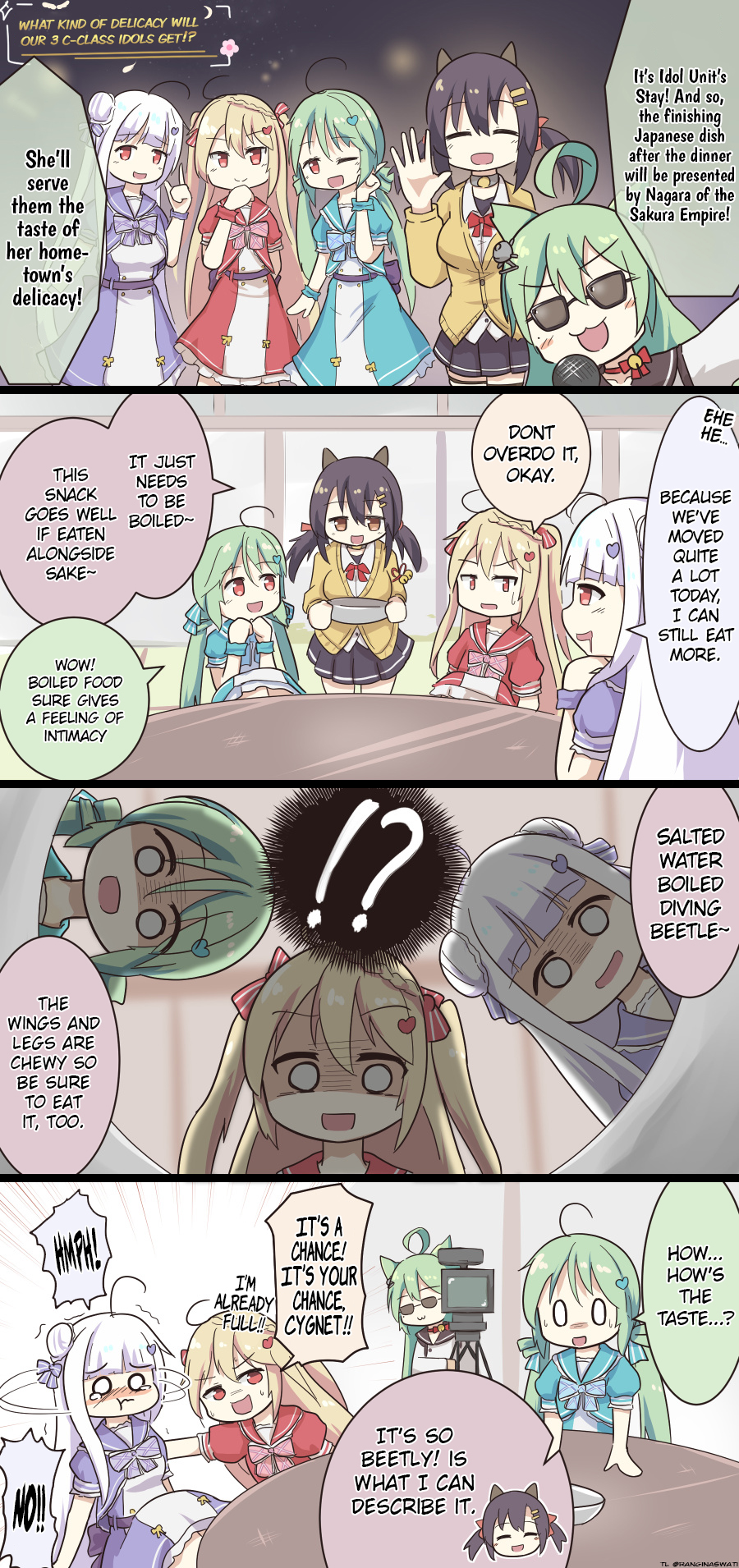 Azur Lane Spare Time (Doujinshi) Ch. 126 Dinner