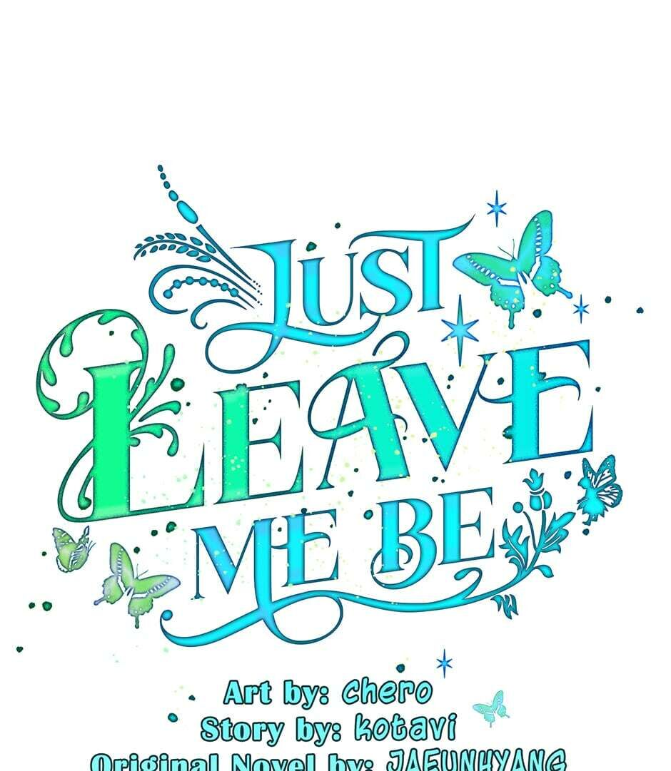 Just Leave Me Be Chapter 39 : Alone With The Pain