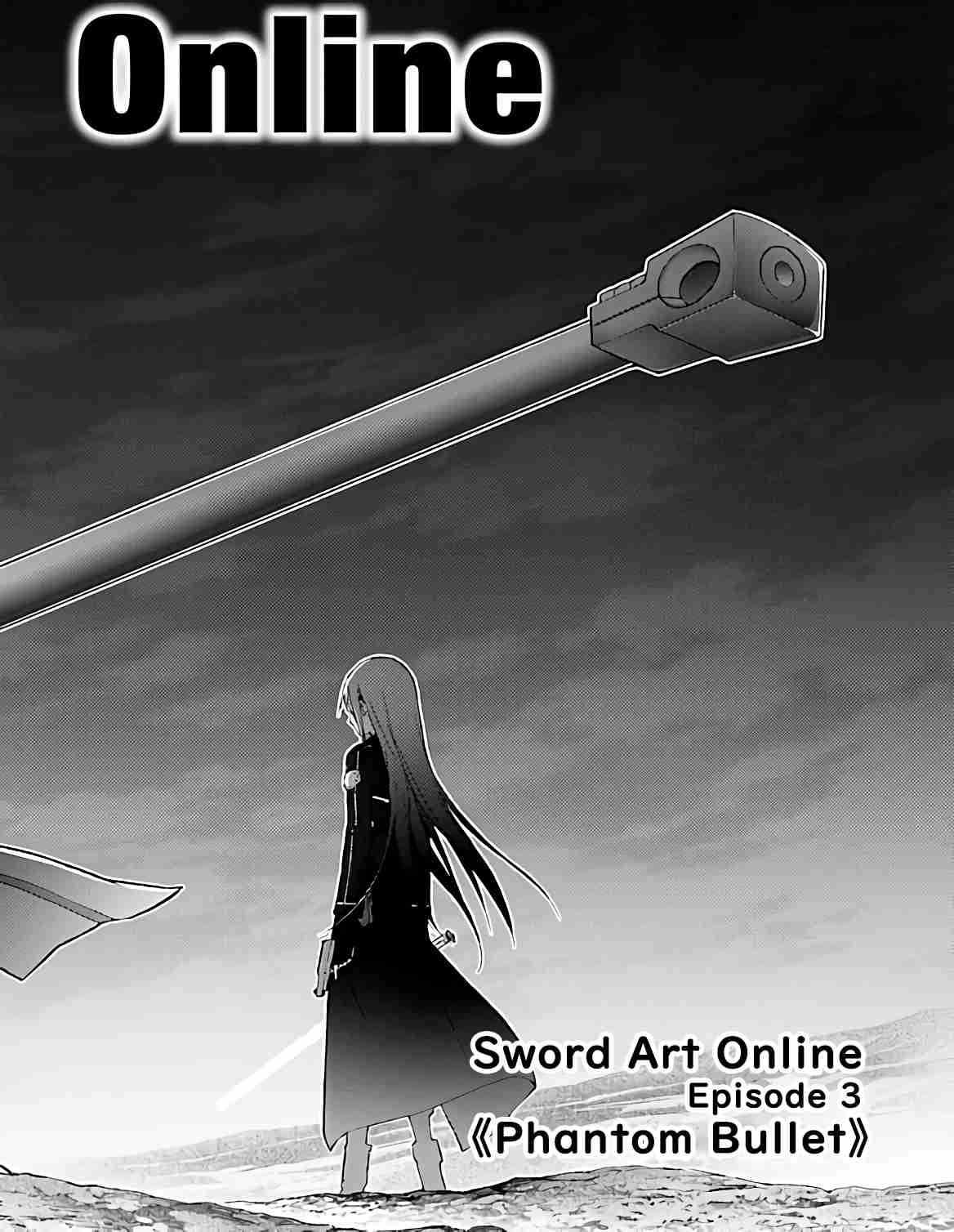 Sword Art Online Phantom Bullet Ch. 1