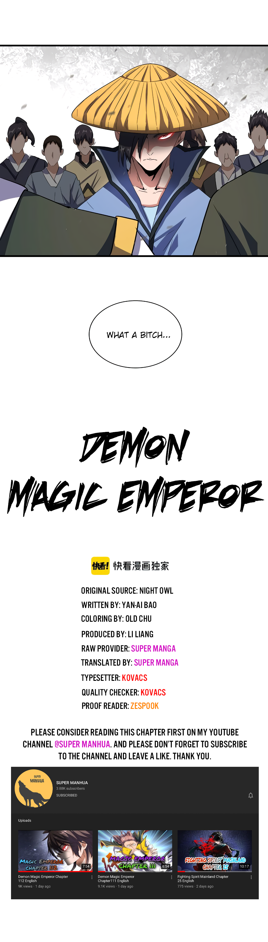 Magic Emperor Chapter 111