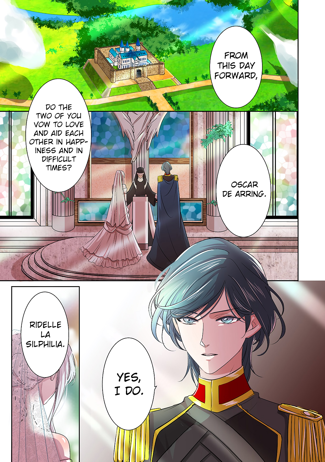 "Dear Us Who Used to be ""The Ice Knight and The Failure Princess"" Ch. 1"