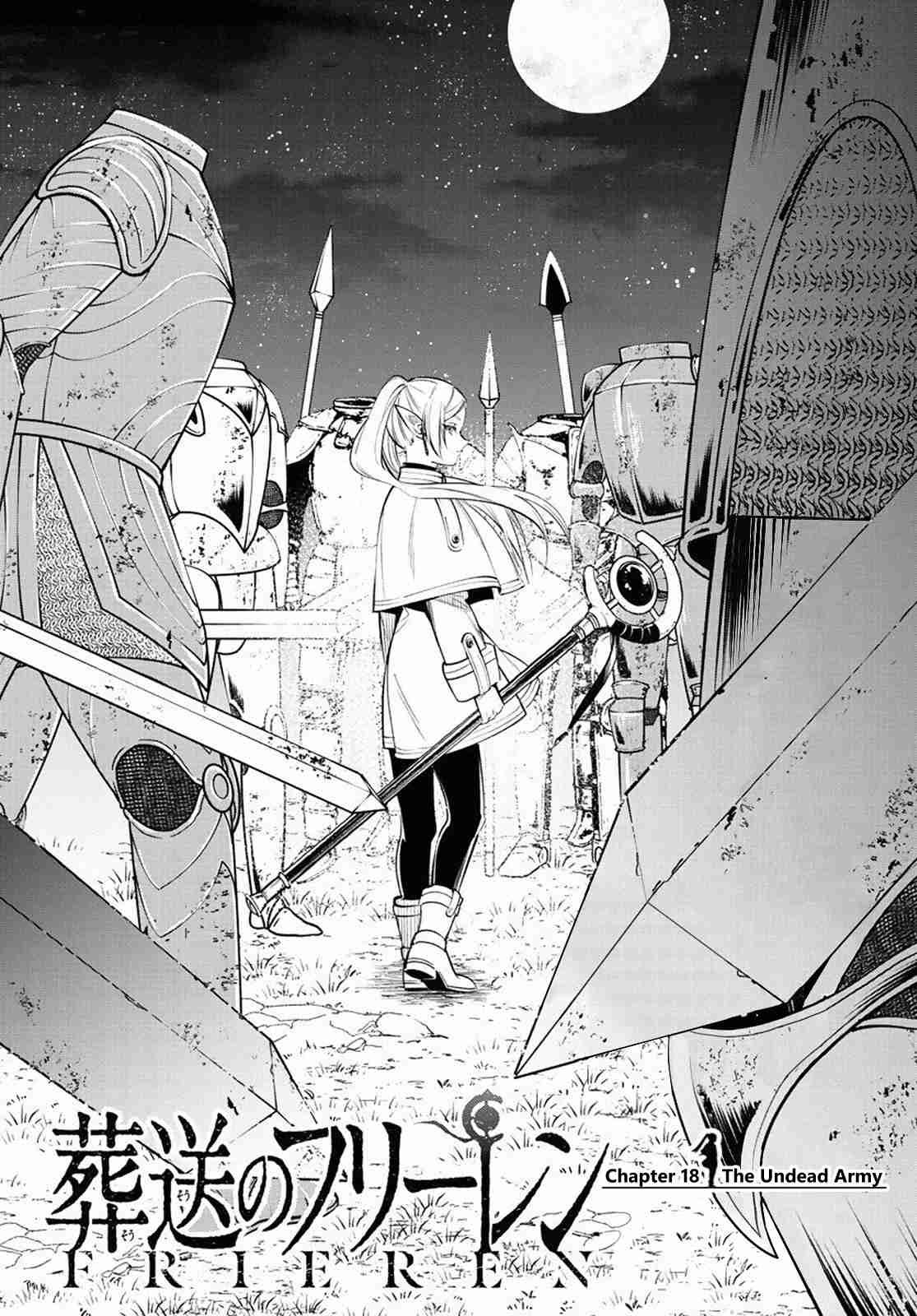 Sousou no Frieren Ch. 18 The Undead Army